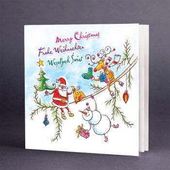 Kartka świąteczna CH-0609