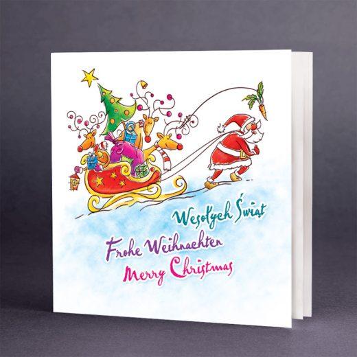Kartka świąteczna CH-0610
