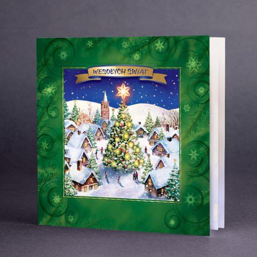 Kartka świąteczna CH-1506
