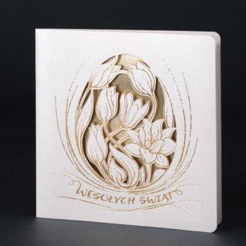 kartka świąteczna wielkanocna EE-0218