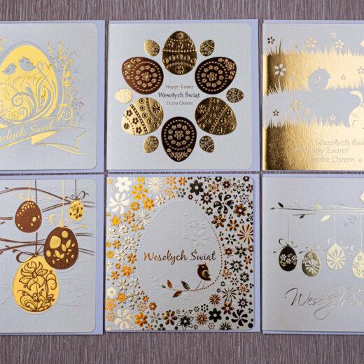 kartki świąteczne wielkanocne zestaw 1 1