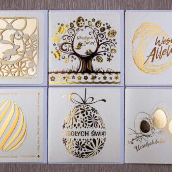 kartki świąteczne wielkanocne zestaw 2 1