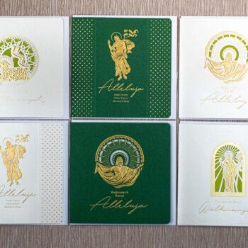 kartki świąteczne wielkanocne zestaw 3-1