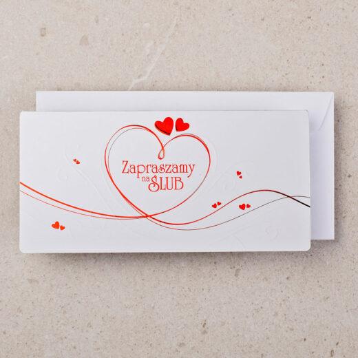 zaproszenie ślubne ZZ-0101