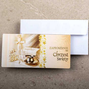 zaproszenie Chrzest ZCH-07 1