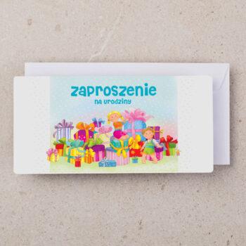 zaproszenia urodzinowe dzieci ZU-02 1