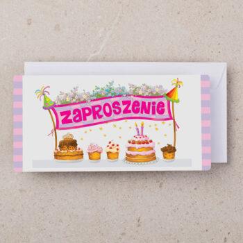 zaproszenia urodzinowe dzieci ZU-04 1