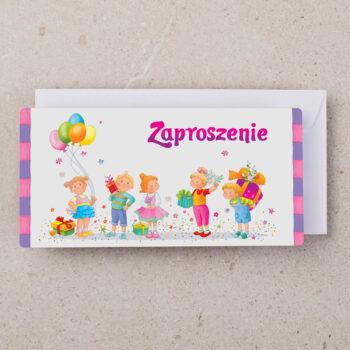 zaproszenia urodzinowe dzieci ZU-05 1